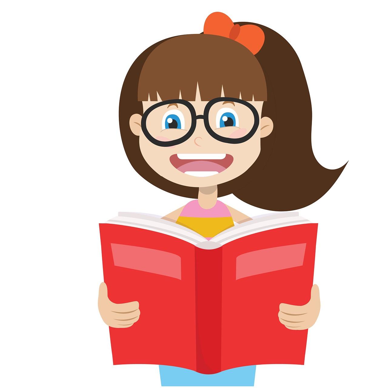 ילדה וספר
